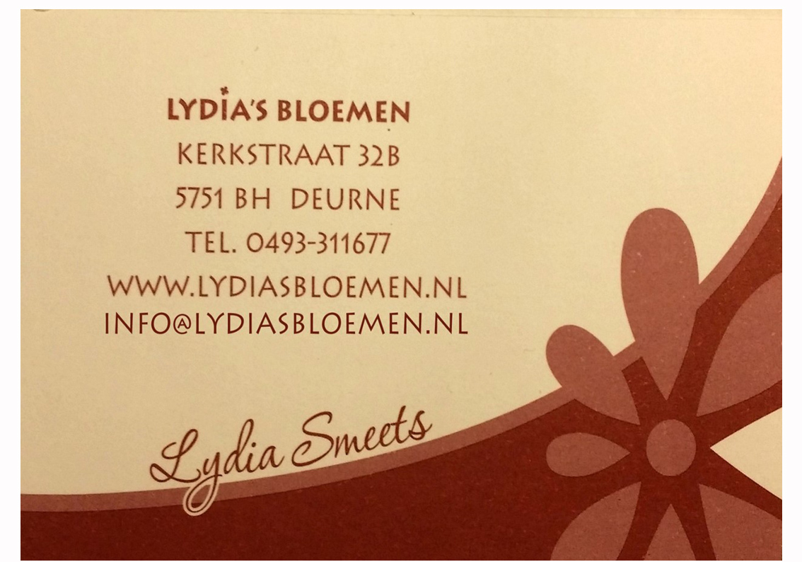 Lydia's bloemen