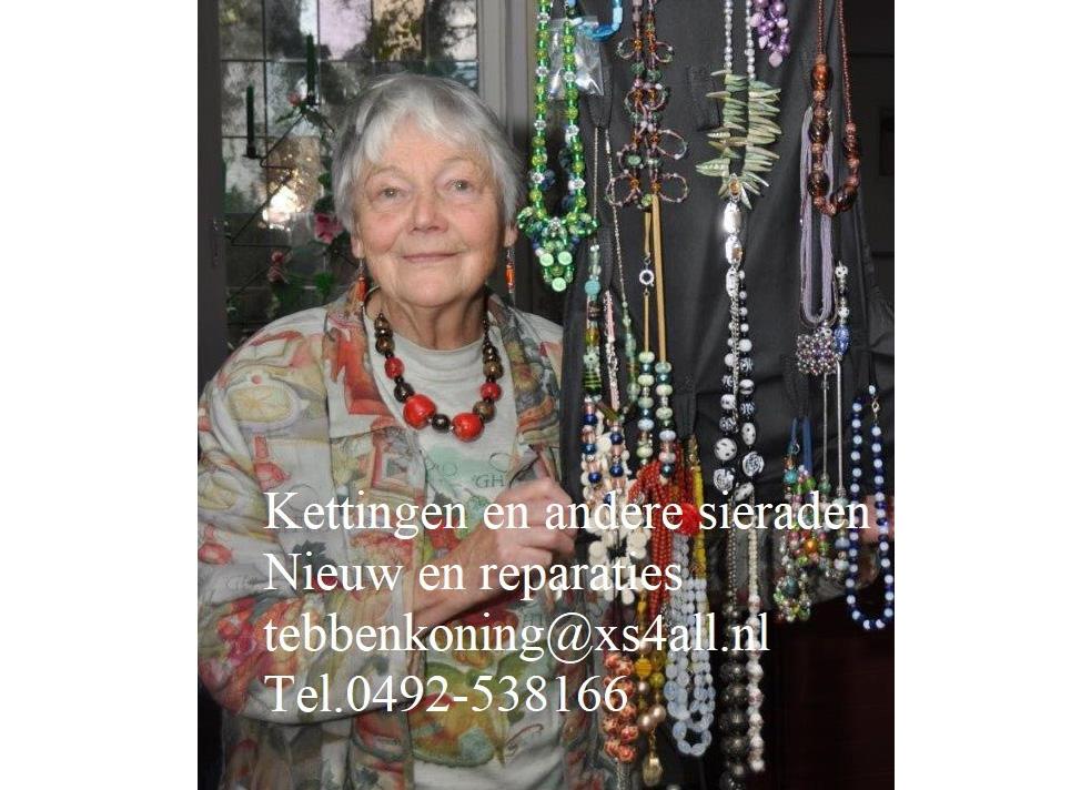 Sieraden Tannie Ebben-Koning