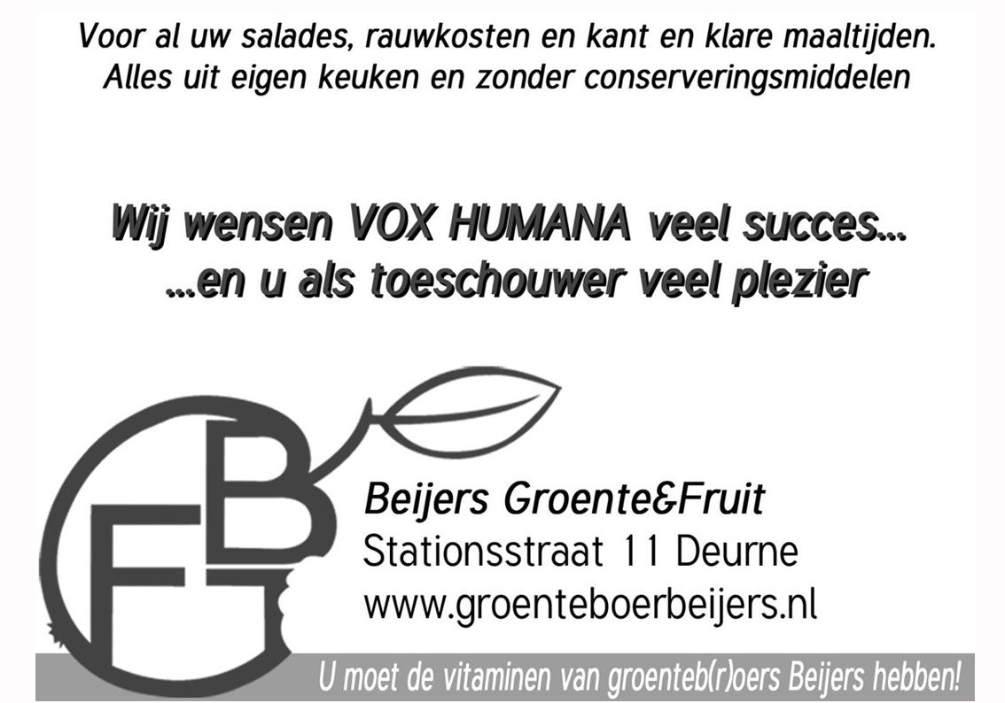 Beijers groente & fruit