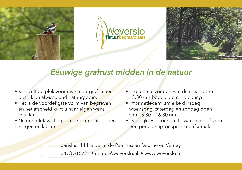 Weverslo Natuurbegraafplaats Heide