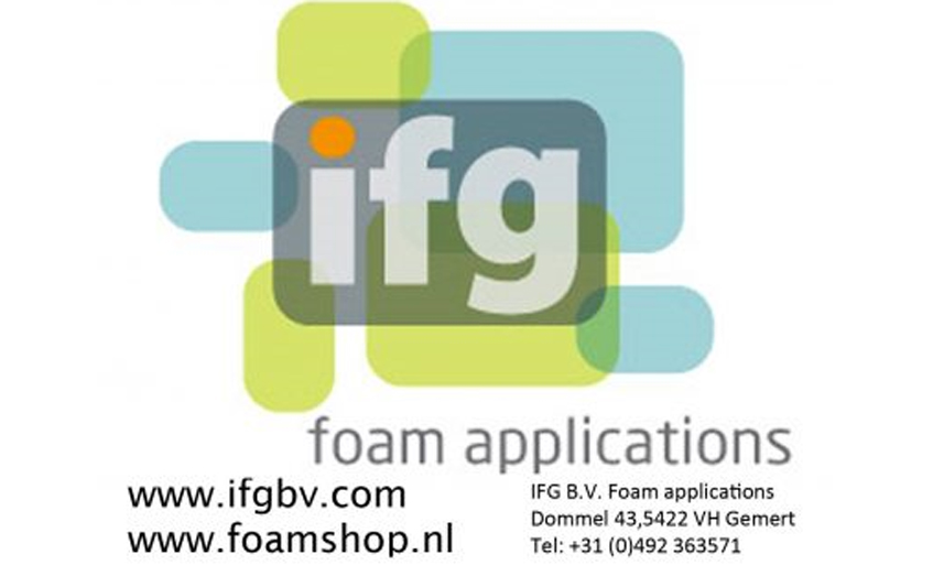IFG B.V. industrial foam applications Gemert