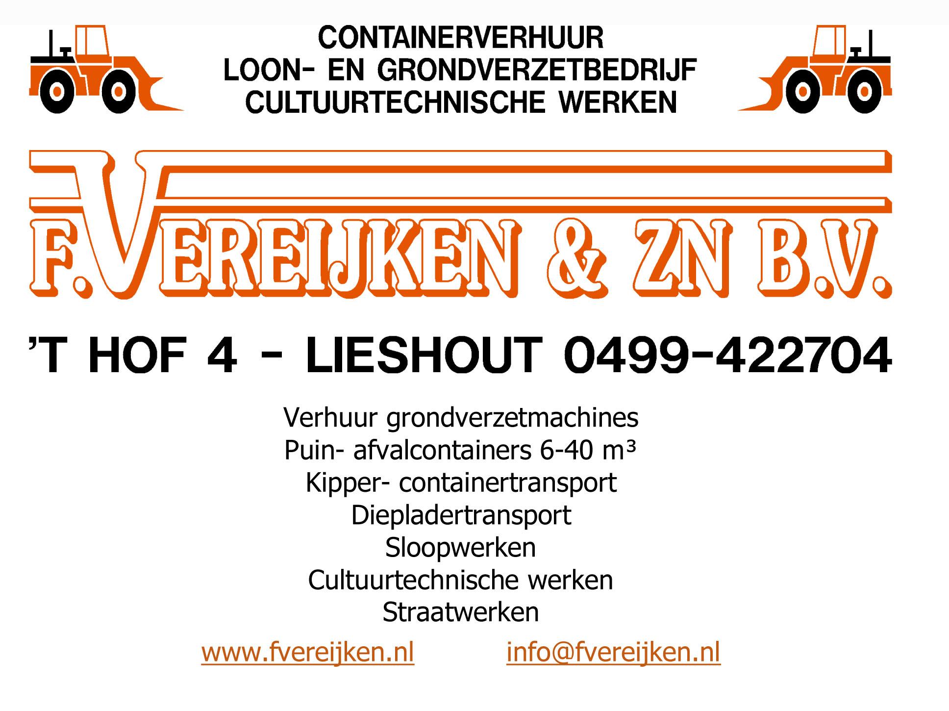 Vereijken Grondverzet Lieshout